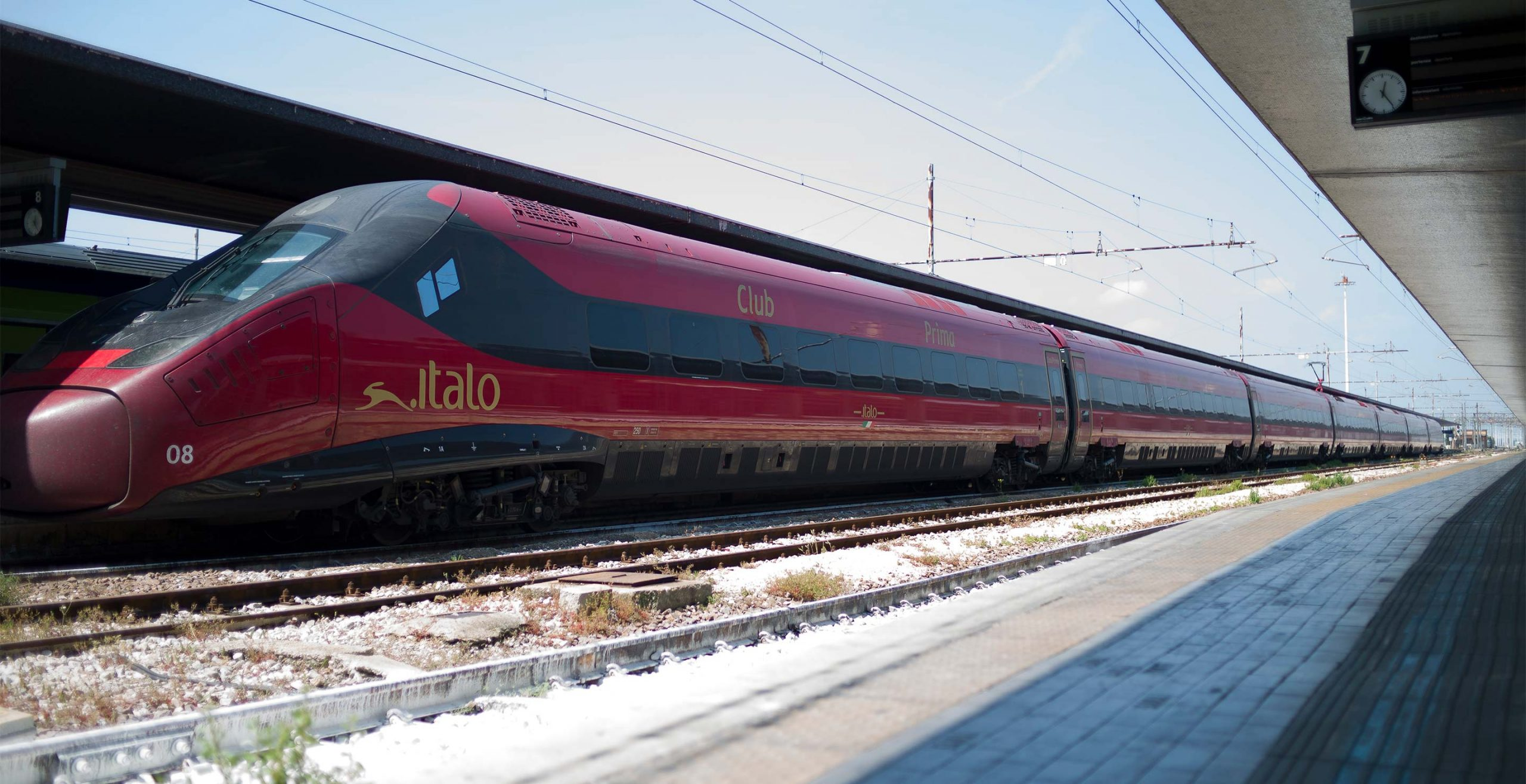 Italo arriva anche in Calabria.