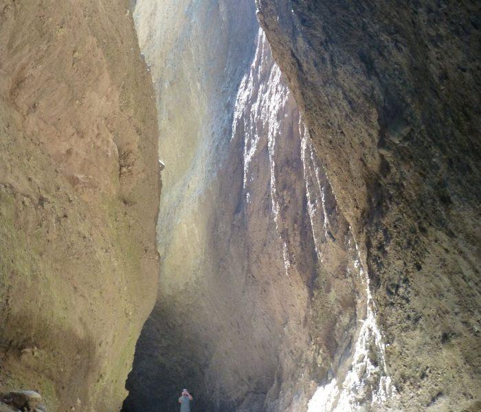 La riserva naturale delle Valli Cupe.