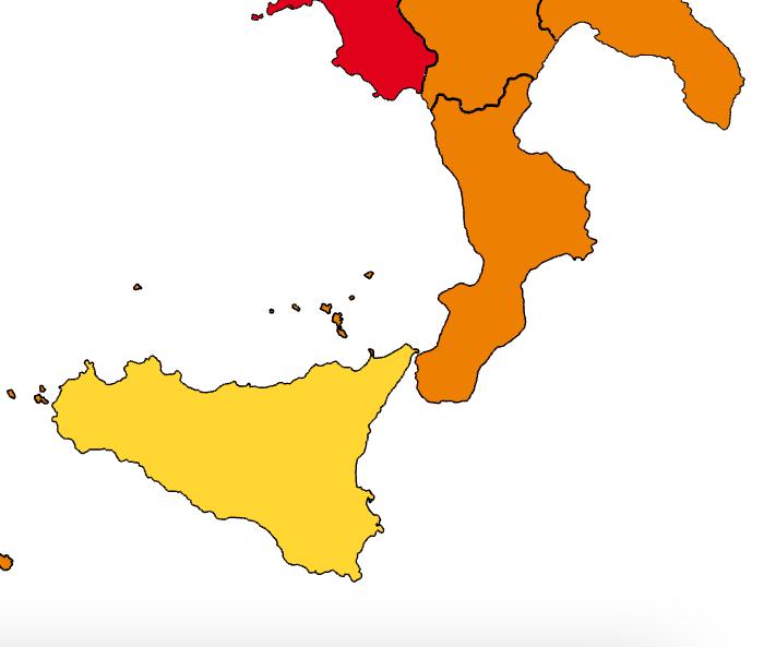 Calabria da oggi Zona Arancione, cosa cambia?
