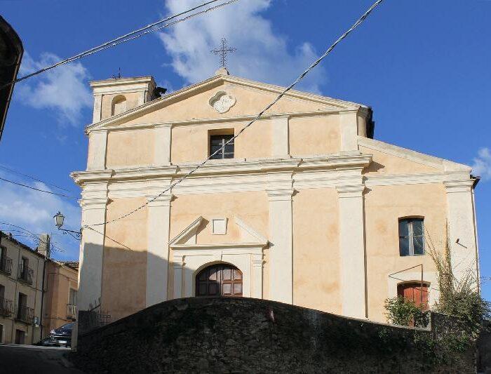 La Chiesa Parrocchiale di San Sebastiano Martire di Jacurso.
