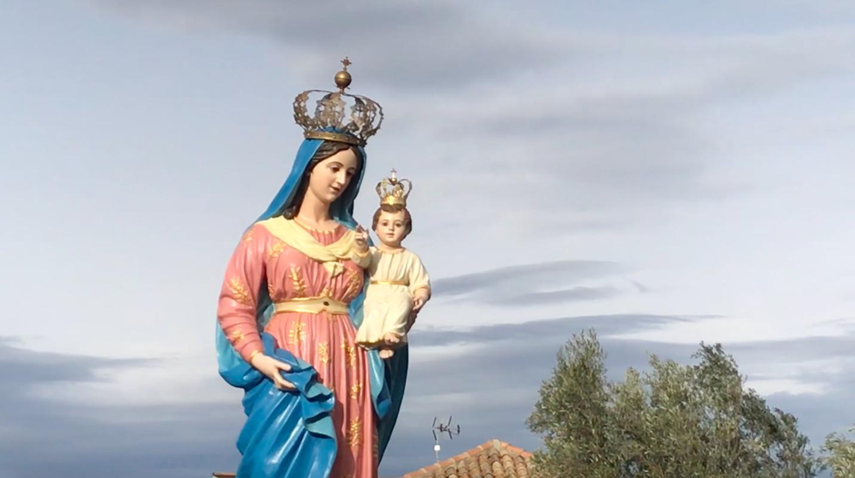 Giuseppe Mantella e il restauro della Statua della Madonna della Salvazione di Jacurso.