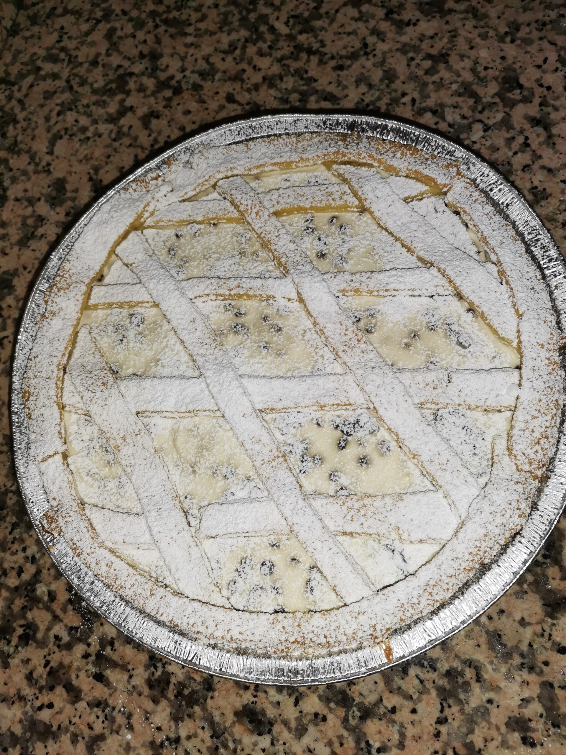 Crostata ricotta e crema pasticcera