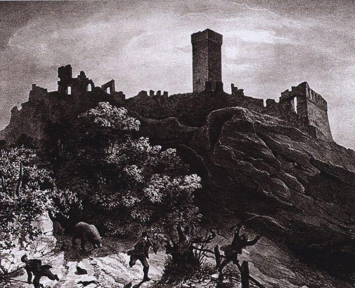 La leggenda del Castello di Atì.