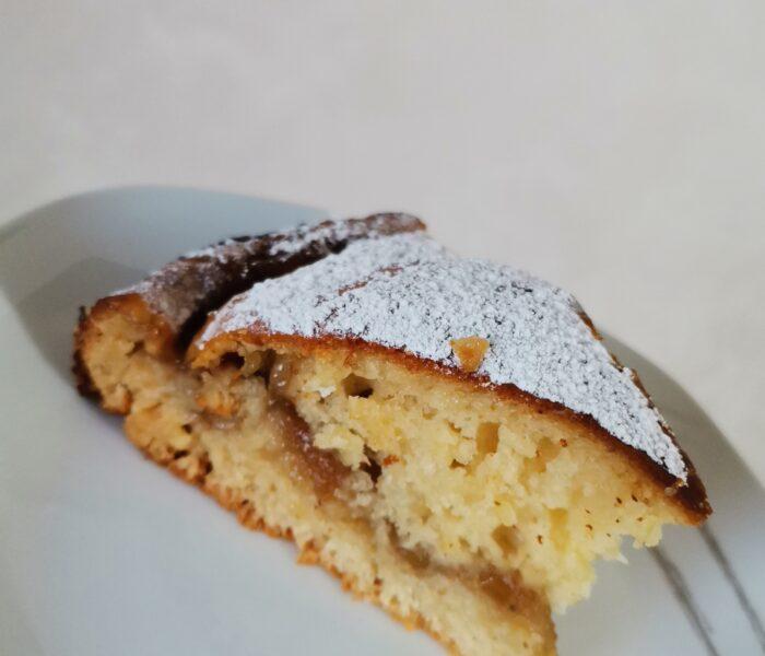 Ricette: torta sana integrale con confettura di fichi